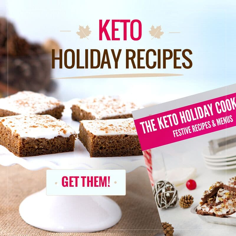 keto holiday cookbook recipes
